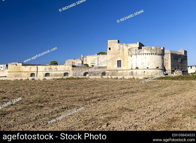 Castello di Acaya castle, Province of Lecce, Apulia, Italy