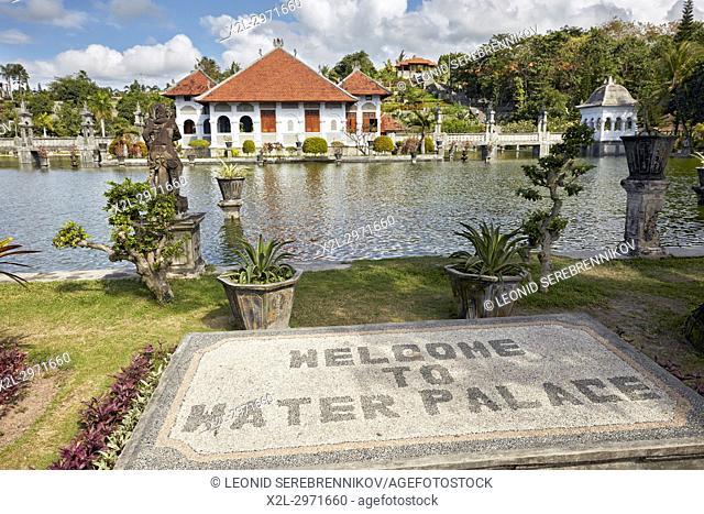 Ujung Water Palace (Taman Ujung), also known as Sukasada Park. Karangasem Regency, Bali, Indonesia