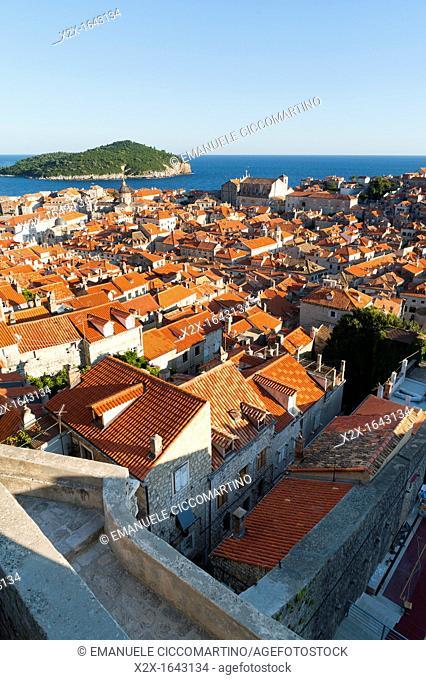 Old town view, Dubrovnik, Dubrovnik-Neretva county, Croatia, Europe