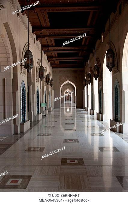 Arabia, Arabian peninsula, Sultanate of Oman, Muscat, sultan Qaboos Grand Mosque