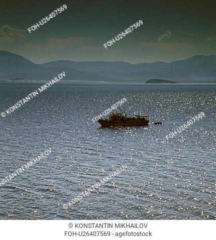 Baikal, East Siberia, Eatern Siberia, Siberia, boat, craft, cutter