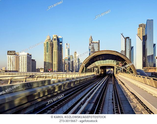 Dubai Metro, Dubai, United Arab Emirates