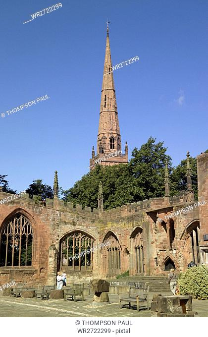 90900296, Old Coventry Cathedral, Coventry, West M