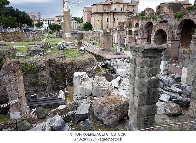 Forum Romanum, ancient Rome