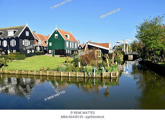Netherlands, North Holland / Noord-Holland, Marken village