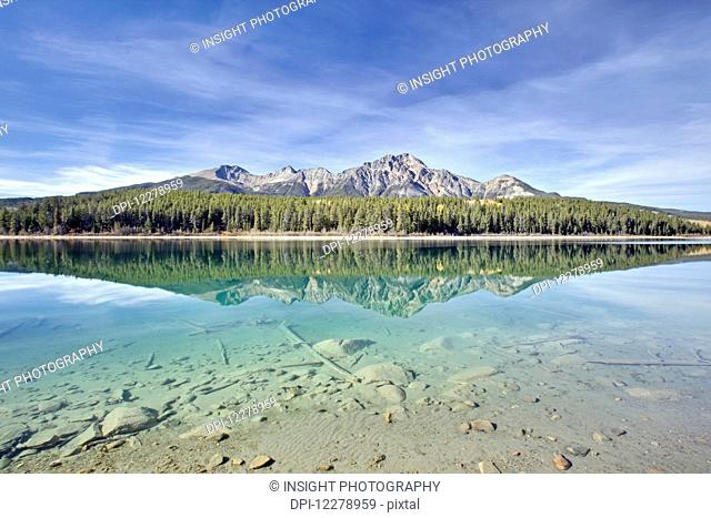 Patricia Lake is a lake in Jasper National Park, near the town of Jasper; Alberta, Canada