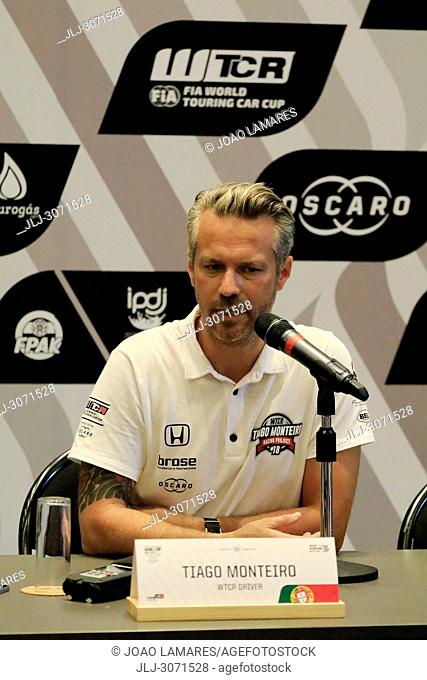 WTCR2018: Vila Real. Tiago Monteiro announced his intention to return to racing almost a year since he suffered serious head