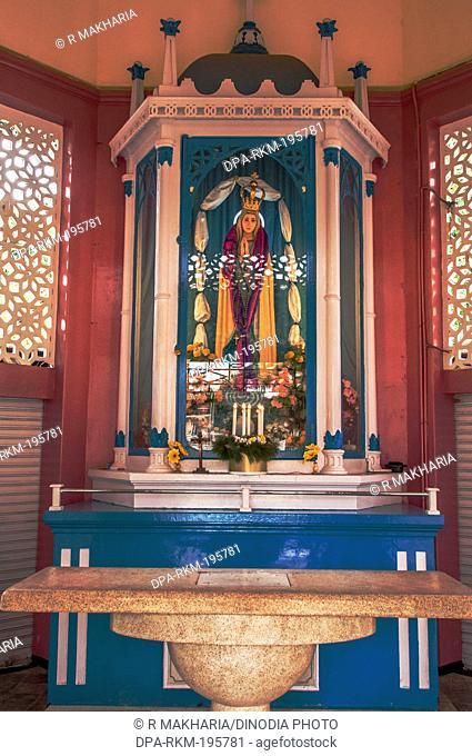 Santa cruz cathedral basilica church, kochi, kerala, india, asia