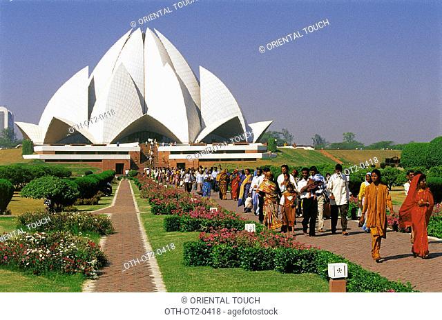 Behai  Temple  Delhi, India