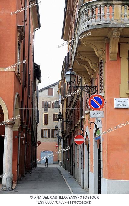 Modena,Via Roma, Italy