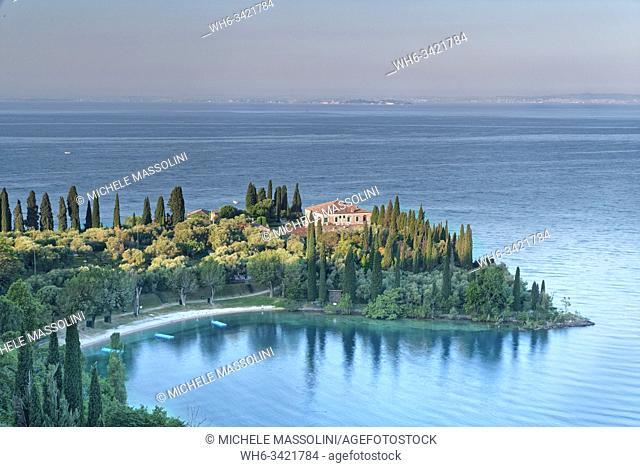 Punta S. Vigilio, lago di Garda. Italy