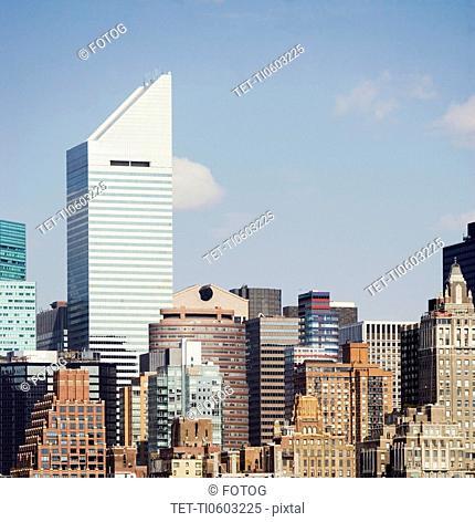 USA, New York, New York City, Manhattan, Skyline