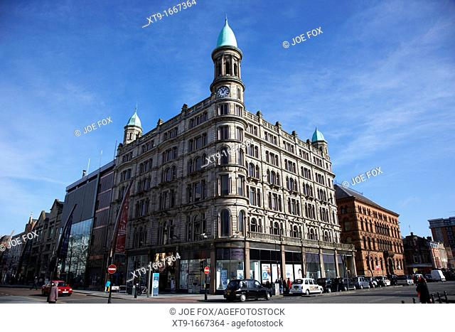 former robinson and cleaver's royal irish linen warehouse department store donegall place Belfast Northern Ireland UK