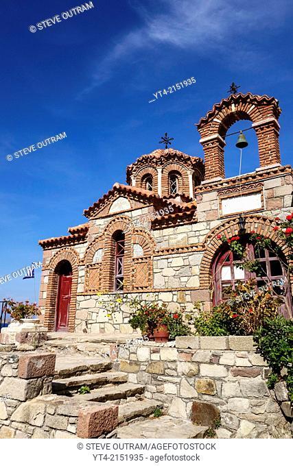 Agia Triada Church, Sigri, Mytilini, Greece