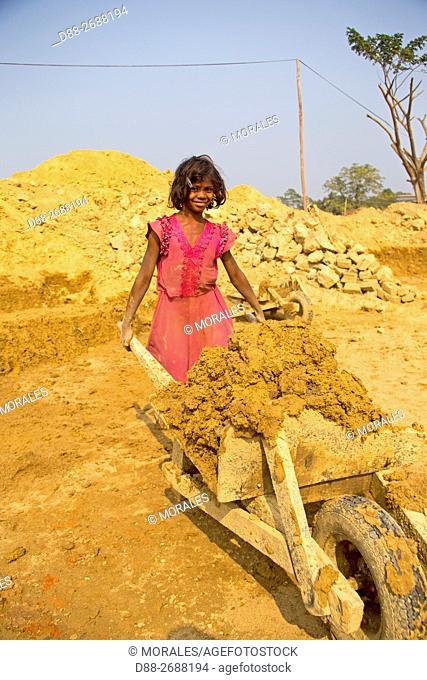 South east Asia, India,Tripura state,brick factory