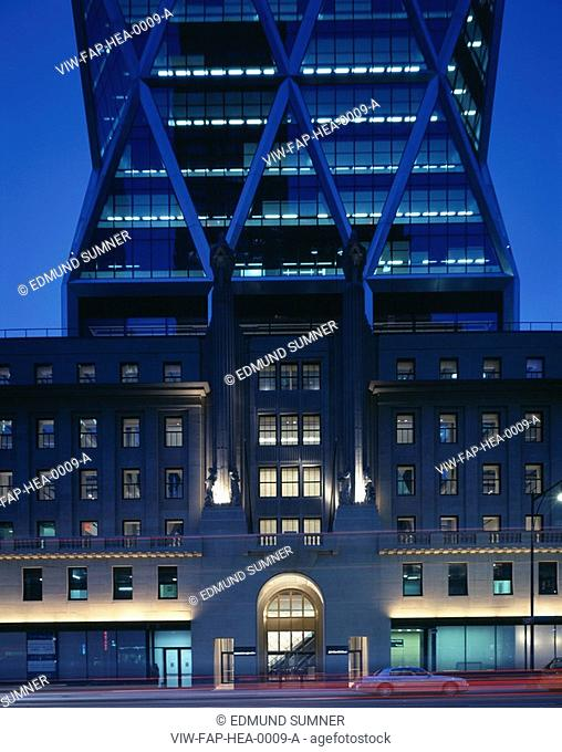 THE HEARST TOWER, NEW YORK, USA, FOSTER & PARTNERS, EXTERIOR