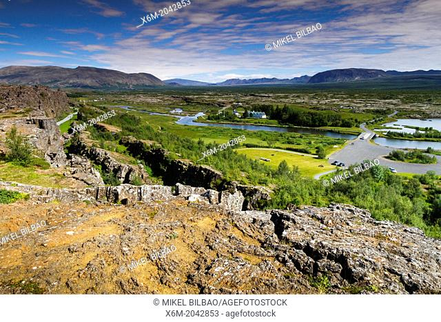 Rift Valley. Pingvellir National Park. Golden Circle. Iceland, Europe