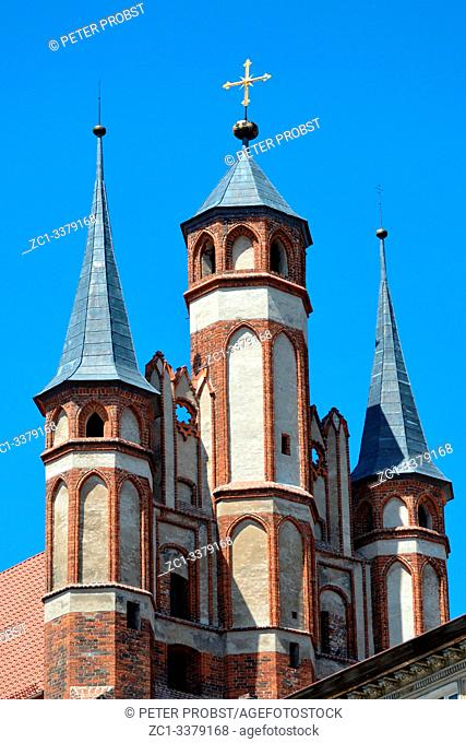 Church of the Virgin Mary in the old city of Torun - Poland