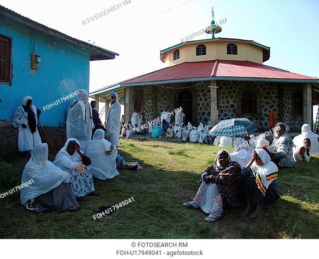 orthodox, person, zeyit, debre, ethiopia, people