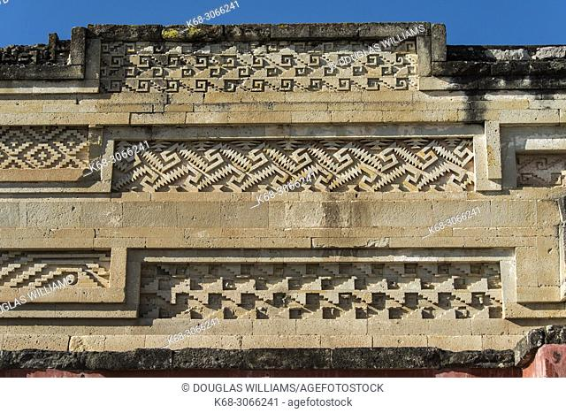 Ruins at Mitla, Oaxaca, Mexico
