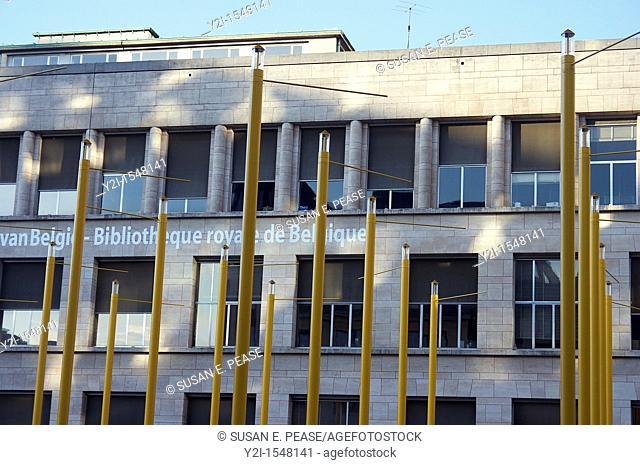 Bibliotheque royale de Belgique Royal Library of Belgium  Brussels, Belgium