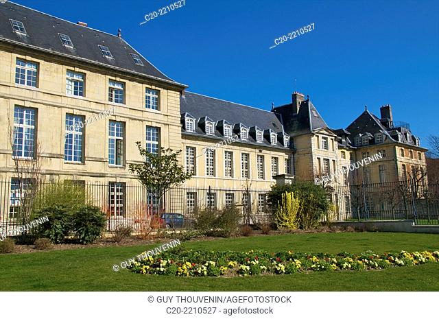 Prefecture buildings, and gardens, ancient Hotel Dieu, Rouen, 76000 High Normandy, France