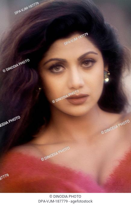 1999, Portrait of Indian film actress Shilpa Shetty