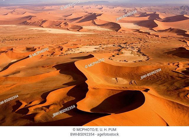 dunes of Sossusvlei, Namibia, Namib Naukluft National Park, Sossusvlei
