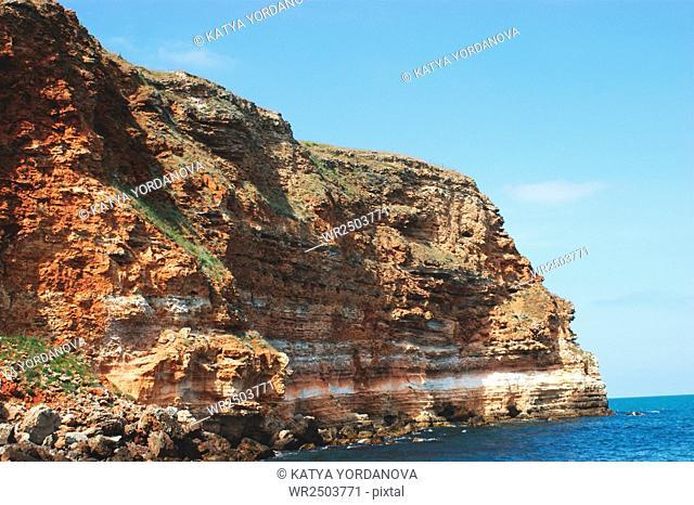 Coastal landscape of Kaliakra headland