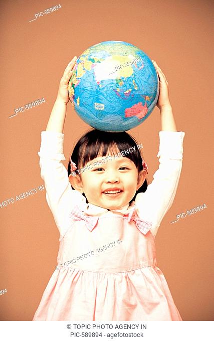 A Girl With Globe,Korean