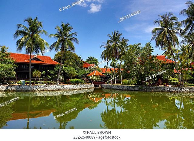The Meritus Pelangi Beach Resort Hotel in Pantai Cenang, Langkawi, Malaysia