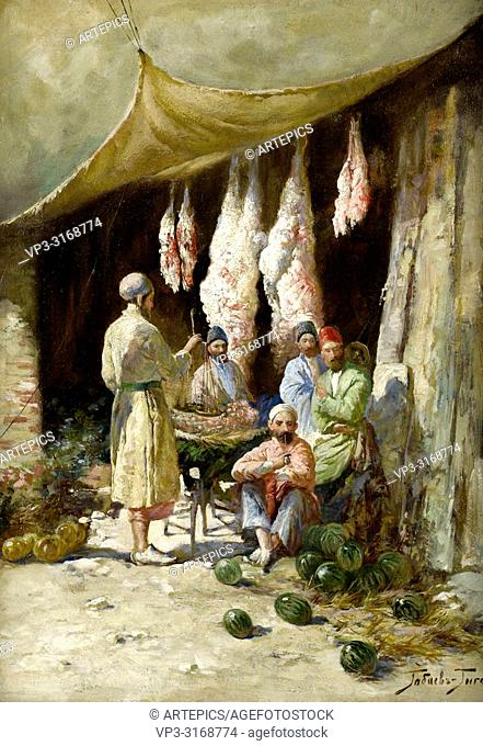 Gabashvili Georgy Ivanovich - the Butcher's Stall