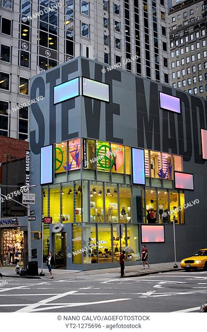 Steve Madden Store in Manhattan, New York City, New York State, USA