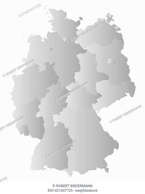 Karte von Deutschland