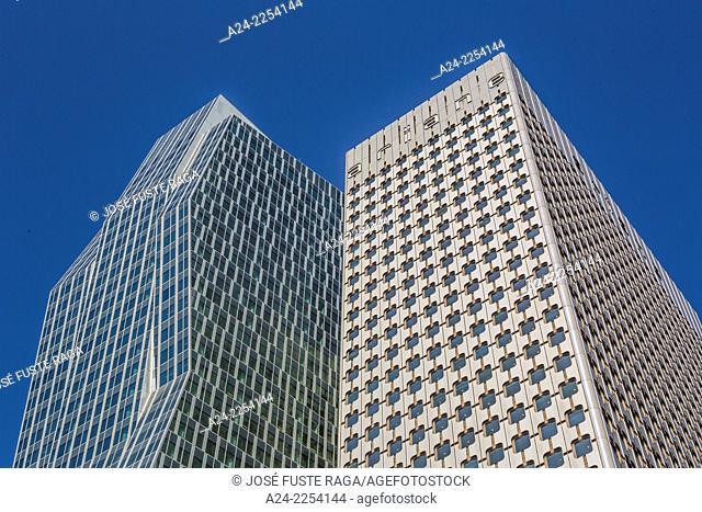 France, Paris City,La Defense District, buildings