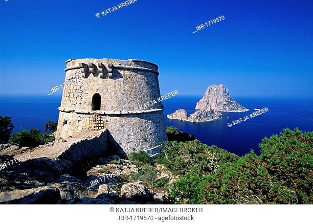 Es Vedra, Ibiza, Balearic Islands, Spain, Europe