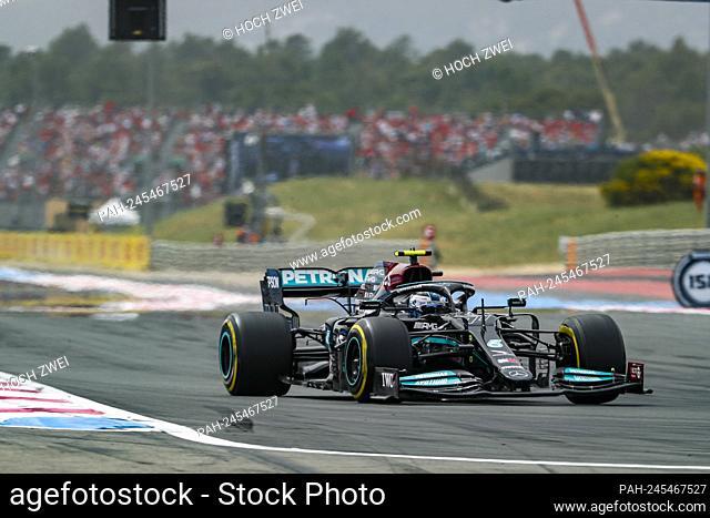 # 77 Valtteri Bottas (FIN, Mercedes-AMG Petronas F1 Team), F1 Grand Prix of France at Circuit Paul Ricard on June 19, 2021 in Le Castellet, France
