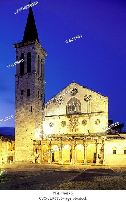 Santa Maria Assunta Cathedral, Spoleto, Umbria, Italy