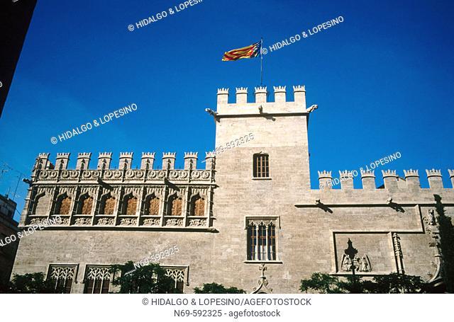 Gothic, XVth century. Tower.  Valencia. Spain