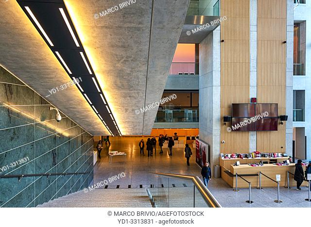 Lugano Arte e Cultura (LAC) is a cultural centre dedicated to music, visual and performance arts opened in 2015 in Lugano, Switzerland