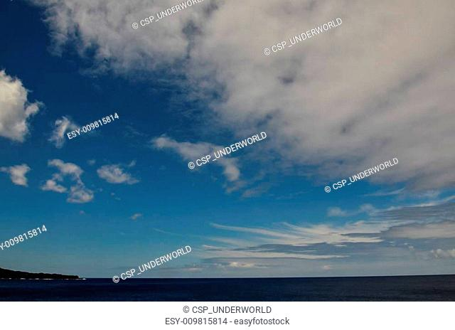Clouds near The Atlantic Ocean