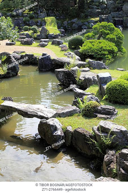 Japan, Kyoto, Sanpo-in Temple, garden,
