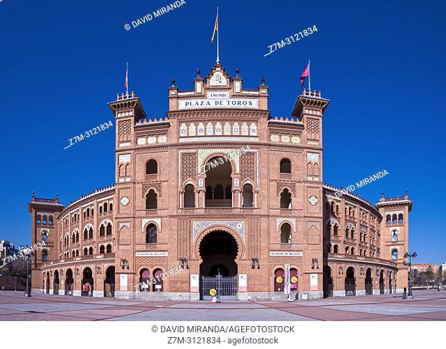 Plaza de toros de Las Ventas. Madrid, Spain