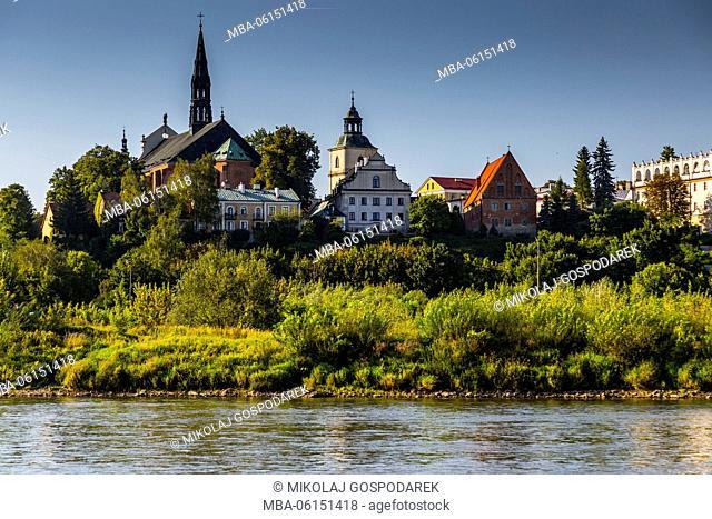 Poland, Swietokrzyskie, Sandomierz, Main Square