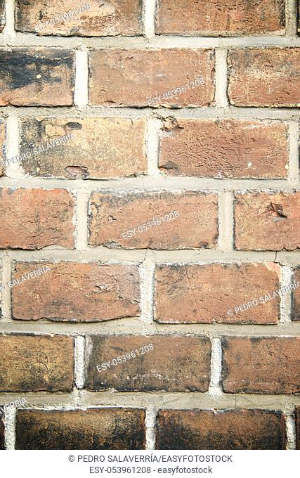 Brick wall background at high resolution in Vienna, Austria
