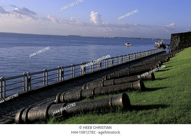 Forte do Castelo, Belem, Amazon, Brazil, South America, history, river, canons