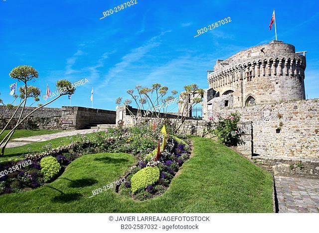 Chateau de Dinan, Dinan, Bretagne, Brittany, France
