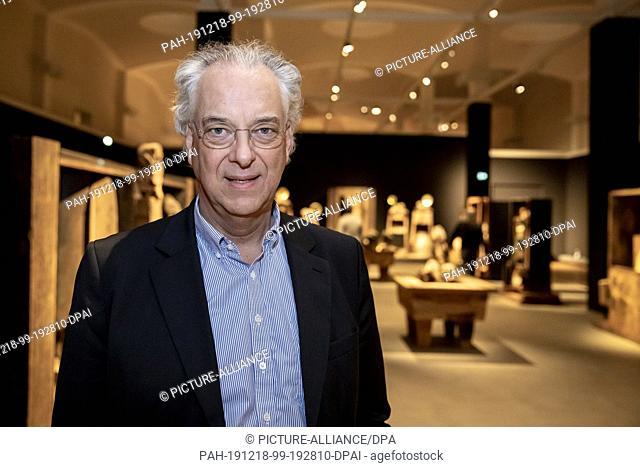 "18 December 2019, Berlin: Michael Eissenhauer, General Director of the Staatliche Museen zu Berlin, is in a preliminary presentation in the installation """"The..."