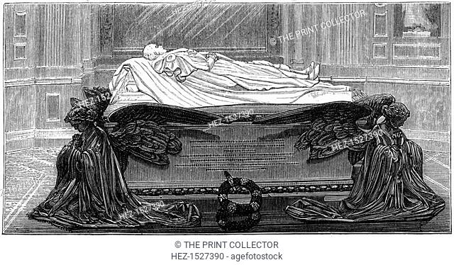 'Prince Consort's Tomb', 1880. The Royal Mausoleum at Frogmore near Windsor Castle in Berkshire, was built by Queen Victoria to contain the remains of her...