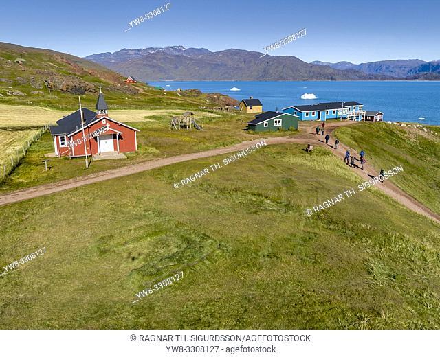 Qassiarsuk or Brattahlid, South Greenland